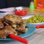 豚肉の燻製料理