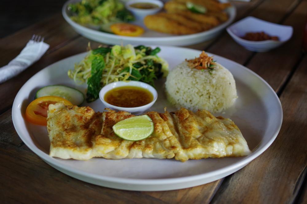 白身魚定食