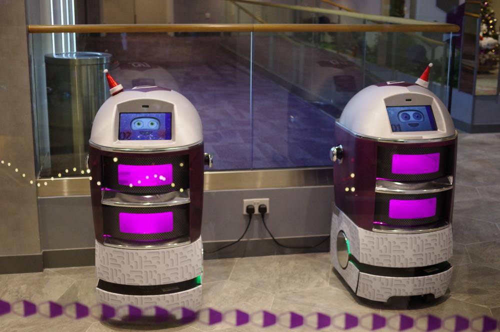 受け付けロボット