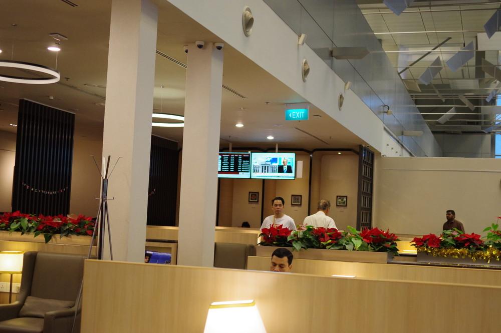 シンガポールラウンジ1